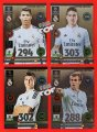 REAL MADRYT LIMITED EDITION Champions League 2015 - Ronaldo Bale Rodriguez Kross - 4 karty