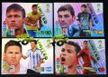 4 karty Limited Edition - RONALDO MESSI NEYMAR CASILLAS- FIFA BRAZIL WORLD CUP 2014   Brasil   - PROMOCJA !