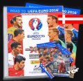 ALBUM + 1 Limited +  5 saszetek NORDIC EDITION Road to Euro 2016