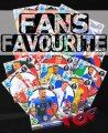 18 kart FANS FAVOURITE - komplet -   ROAD TO EURO 2016