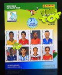 1 UPDATE - 71 dodatkowych naklejek - KOMPLET - WORLD CUP BRASIL stickers collection