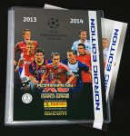 ALBUM do umieszczania kart + 60 kart  Champions League 2013/2014  - Panini Adrenalyn XL  + Game Changer +