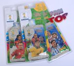 BLISTER 4 saszetki + 1 Limited Edition - Adrenalyn XL  Panini - FIFA BRASIL WORLD CUP 2014  Brazil