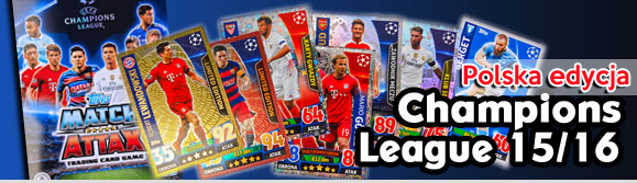 Topps Champions League PL