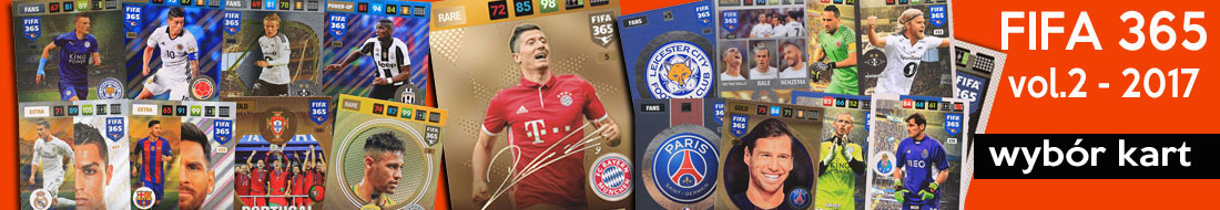FIFA 365 cards choose