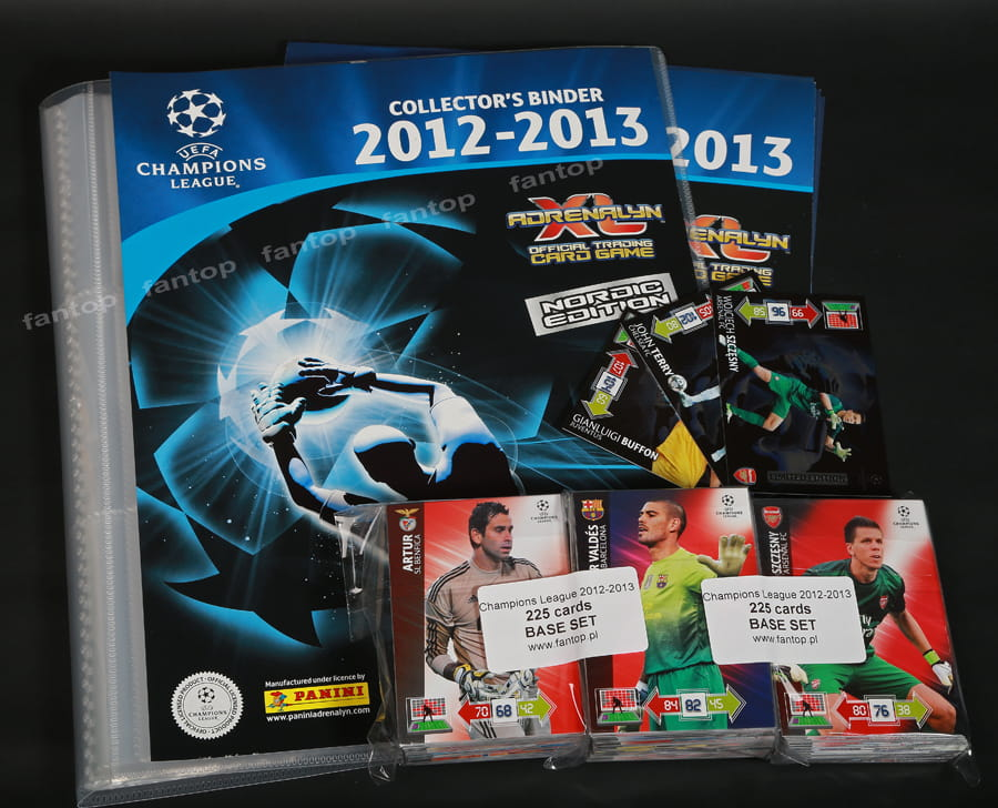 Champions League 2012 13 Panini Adrenalyn XL   3 Karty Limited Edition