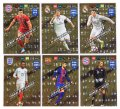 6 karty  LIMITED EDITION   FIFA 365 2018  - LEWANDOWSKI Sturridge RAMOS Neuer PIQUE Ronaldo + RAMKA