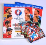 ALBUM   ROAD TO EURO 2016   + 50 kart + 3 Limited  - RONALDO !