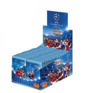 BOX 50 saszetek Champions League 2011-2012 panini