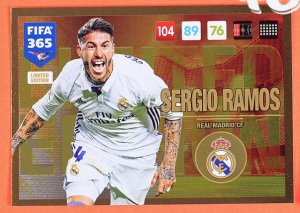 XXL  RAMOS  Limited Edition - UPDATE FIFA 365 2017