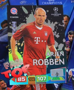 ROBBEN - limited edition CHAMPIONS LEAGUE 2011-2012