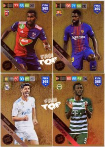 4 x LIMITED EDITION - UMTITI ,  ASENSIO , VINICIUS ,FRIMPONG - FIFA 2019