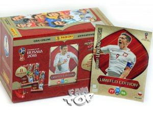GIFT BOX  8 + 3  Polska Limited Lewandowski XXL - WORLD CUP Russia 2018