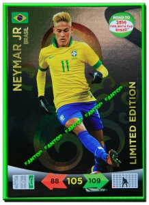 NEYMAR  LIMITED EDITION - Road to 2014 FIFA BRAZIL