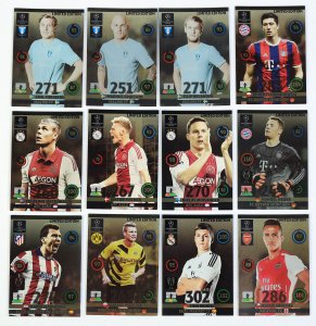12 kart zestaw Limited Edition  Champions League 2014-2015 panini
