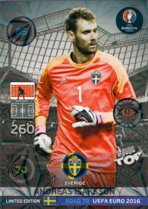 ISAKSSON -   LIMITED EDITION Road to Euro 2016