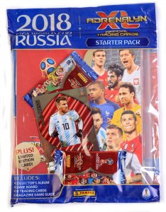 Starter Pack UK Album 2 Mega 1 Limited XXL MESSI - World Cup Russia 2018