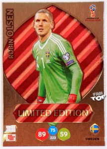OLSEN Robin  Limited Edition  - WORLD CUP Russia 2018