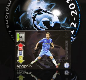 z7 MATA unikat  Limited edition CHAMPIONS LEAGUE 2012 - 2013 Adrenalyn XL - Panini
