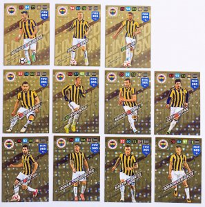 11 kart komplet  LIMITED EDITION - FENERBAHCE - FIFA 365 2018