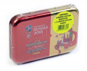 PUSZKA folia 4 + 2 Limited SUAREZ , DYBALA - WORLD CUP Russia 2018  Nordic Edition