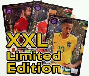 XXL Duże karty Limited Edition -  ROAD TO WORLD CUP 2018