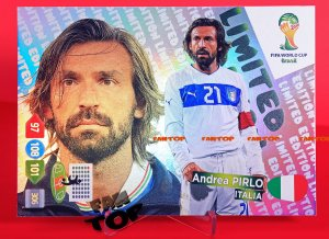 PIRLO -  Limited Edition - FIFA BRAZIL WORLD CUP 2014   Brasil