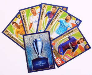 HAT TRICK HERO + Trophy - wybór kart -  2017 /2018 Champions League  TOPPS