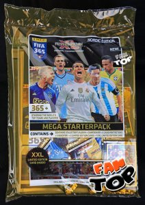 MEGA STARTER PACK - Panini FIFA 365 - Adrenalyn XL 2015-2016 - NORDIC EDITION XXL BENZEMA