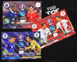 komplet 3 karty FRIENDS and FOES - EURO 2016