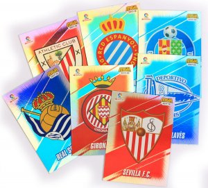 karty LOGO CLub Badge - LALiga MEGACRACKS 2017 2018