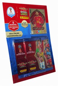 MULTI PACK  5 + 1  Limited wybór - Edition WORLD CUP Russia 2018