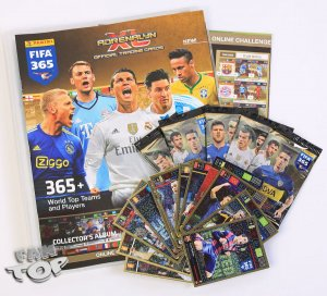 ALBUM  5 saszetek  + 11 kart Limited Edition FIFA 365