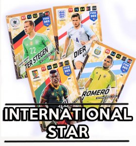 3. International Star - wybór kart - FIFA 365 2018
