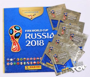 ALBUM + 10 saszetek  - WORLD CUP Russia 2018