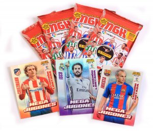 3 karty LIMITED EDITION + 4 saszetki - LALiga MEGACRACKS 2017 2018
