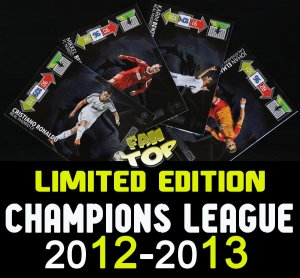 LIMITED EDITION - wybór kart - 2012-2013 CHAMPIONS LEAGUE