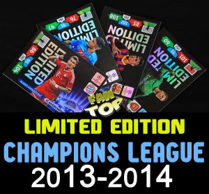 All Limited Edition - PANINI ADRENALYN XL -  CHAMPIONS LEAGUE 13/14 - wszystkie karty - wybór
