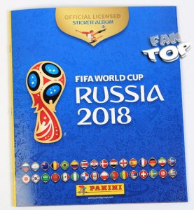 ALBUM do naklejek  - WORLD CUP Russia 2018