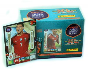 GIFT BOX - RONALDO  XXL - 60 + 3 limited - ROAD TO WORLD CUP 2018