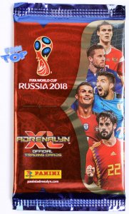 10 x SASZETKI + 1 Limited XXL  - WORLD CUP Russia 2018