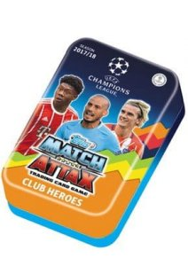 2017 /2018 Champions League  TOPPS - folia Duża PUSZKA   Club Heroes