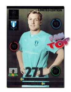 Emil FORSBERG  LIMITED EDITION Champions League 2014 2015 Panini ADRENALYN XL  - RARE