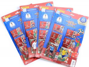 MULTI PACK  4 + 2 wybór karty Limited Edition WORLD CUP Russia 2018
