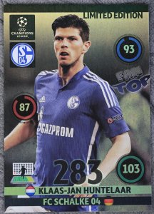 XXL - duża karta Limited Edition  HUNTELAAR - UPDATE 2015