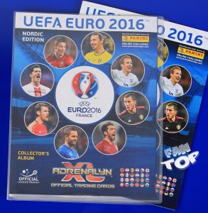 ALBUM + PLANSZA DO GRY - EURO 2016 Nordic Edition