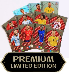 karty LIMITED PREMIUM  - WORLD CUP Russia 2018