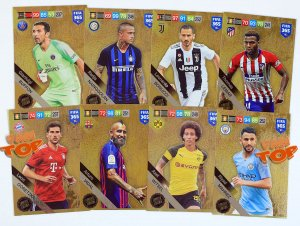 8 x New  LIMITED EDITION - zestaw - FIFA 2019 Buffon, Lemar , Vidal ...