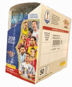 NORDIC - BOX folia 50 x saszetki - WORLD CUP Russia 2018  Nordic Edition