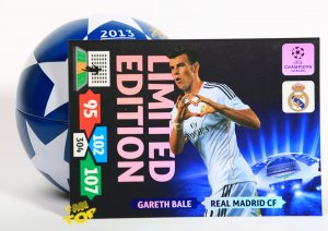 XXL - Gareth BALE  Limited Edition karta Champions League 2013-2014 Adrenalyn XL